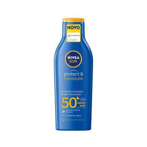 NIVEA SUN Loção Solar Hidratante FP50+ 200 ml