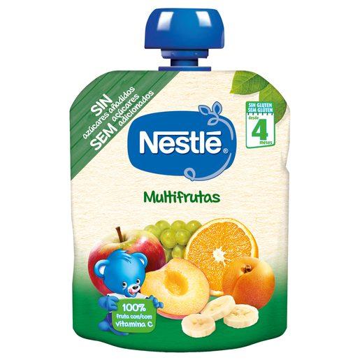 NESTLÉ Pacotinho Fruta Para Bebé Multifrutas +6 Meses 90 g