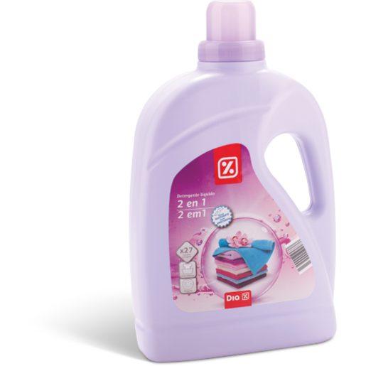 DIA Detergente Líquido Para Roupa 2 Em 1 27 Lv