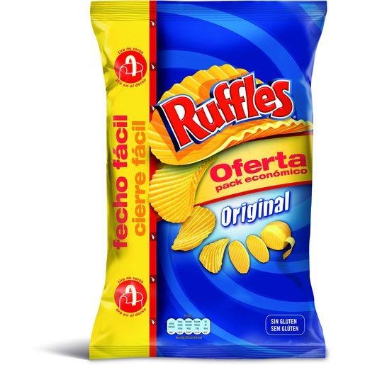 RUFFLES Batata Frita com Sal 282 g