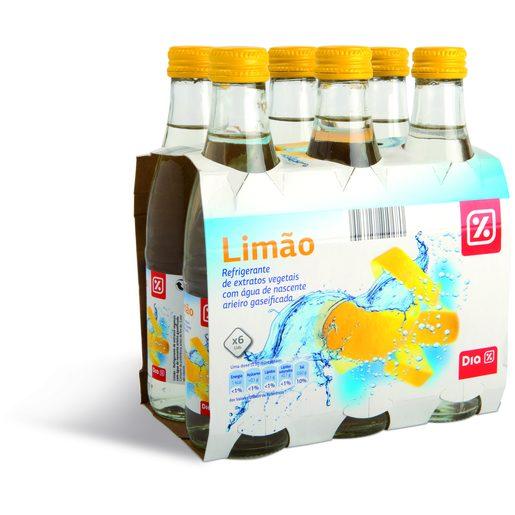 DIA Água com Gás Sabor Limão 6x250 ml