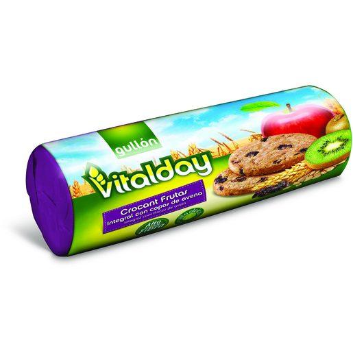 GULLÓN Bolachas Crocantes de Frutas Vitalday 300 g