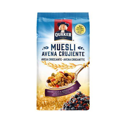 QUAKER Cereais Muesli Goju & Mirtilos 350 g