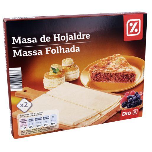 MASSA FOLHADA DIA 500GR