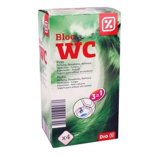 DIA Bloco WC Pinho 4x38 g
