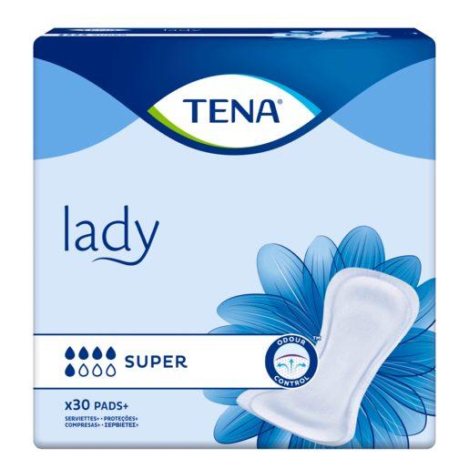 TENA Lady Pensos Incontinência Mulher Super 30 un