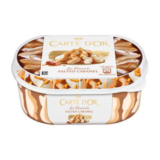 CARTE D'OR Gelado Caramelo Salgado 900 ml