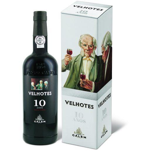 CÁLEM Vinho Do Porto Tawny 10 Anos Velhotes 750 ml