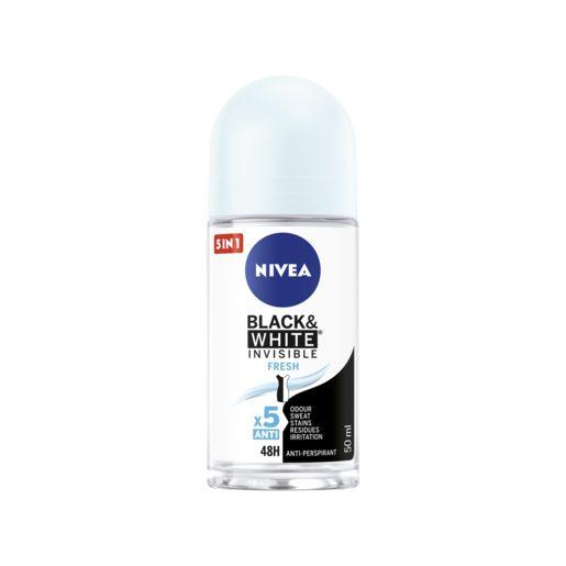 NIVEA Deo Roll-On Black&White Fresh 50 ml