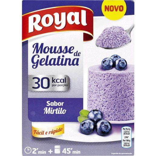 ROYAL Gelatina Mousse Mirtilo  31 g