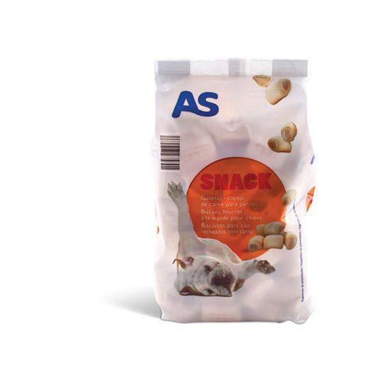 AS Snack com Recheio Para Cão 500 g