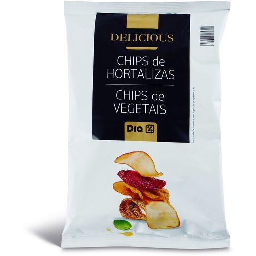 DIA DELICIOUS Chips de Vegetais 100 g
