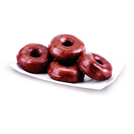 FORNADA DO DIA Roscas Cobertas com Chocolate 60 g