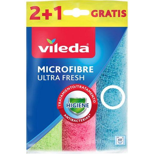 VILEDA Pano Microfribras Ultra Fresh 2 un